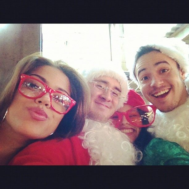 The Duck Faces Of SantaCon
