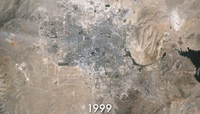 The Growth of Las Vegas
