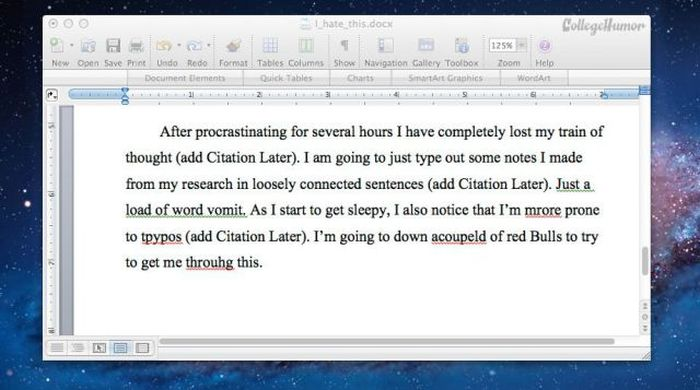 The Typical Timeline for Writing a College Paper