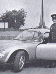 Cars Yuri Gagarin - cosmonaut number 1