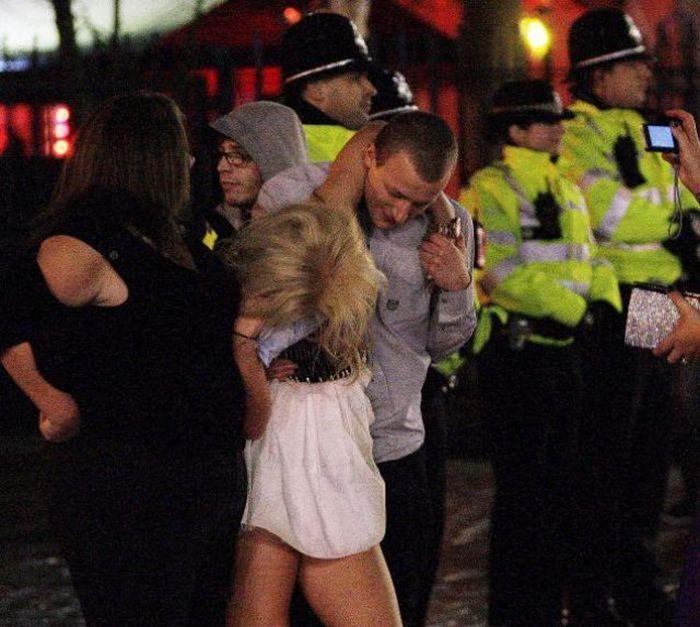Christmas Drunk Parties in Britain