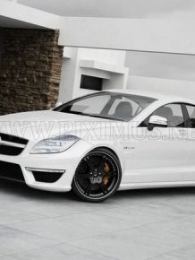 Mercedes-Benz CLS63 AMG - Wheelsandmore