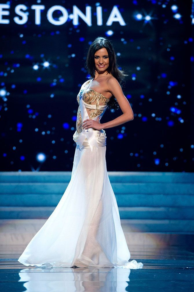 The Contestants of Miss Universe 2012, part 2012
