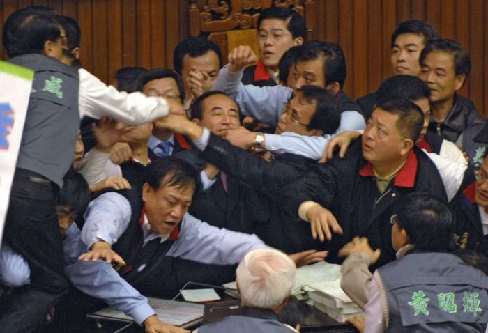 Fighting in the Parliaments