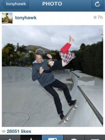 Tony Hawk is a Great Dad