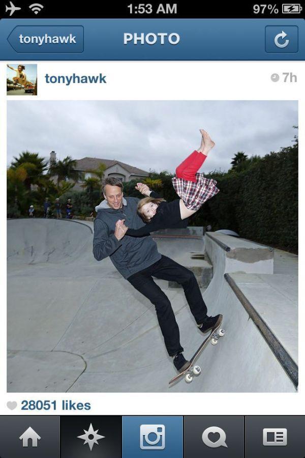 Tony Hawk is a Great Dad