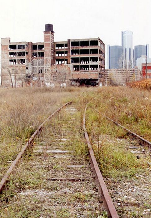 Abandoned Places of Detroit
