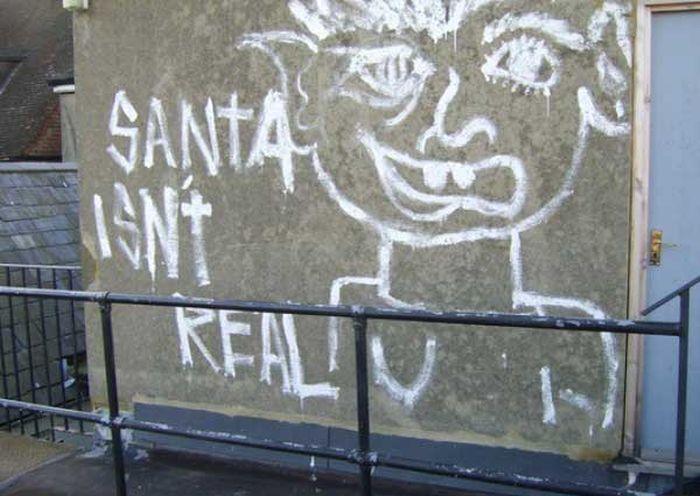 Graffiti Artist vs a Vandal