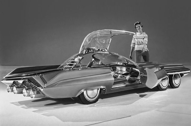 Ford Concept Cars Form The Past