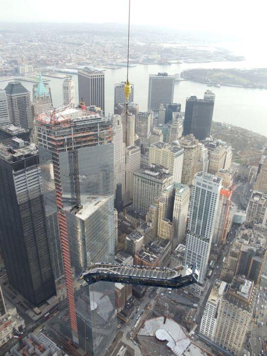 Escalator for WTC