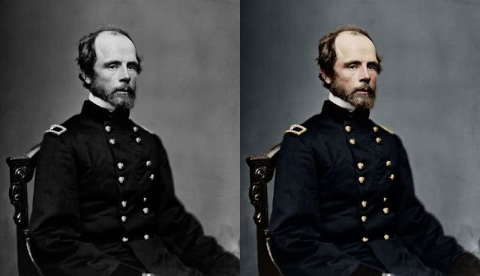 Historic Photos Rendered in Colors