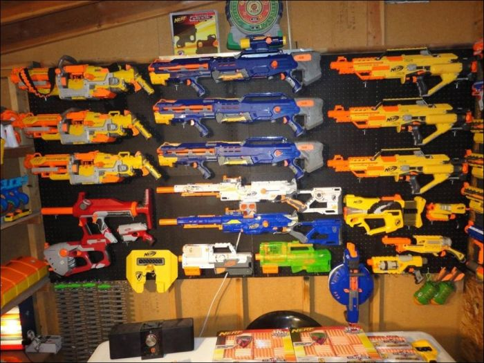 There Are So Many Guns in This Place