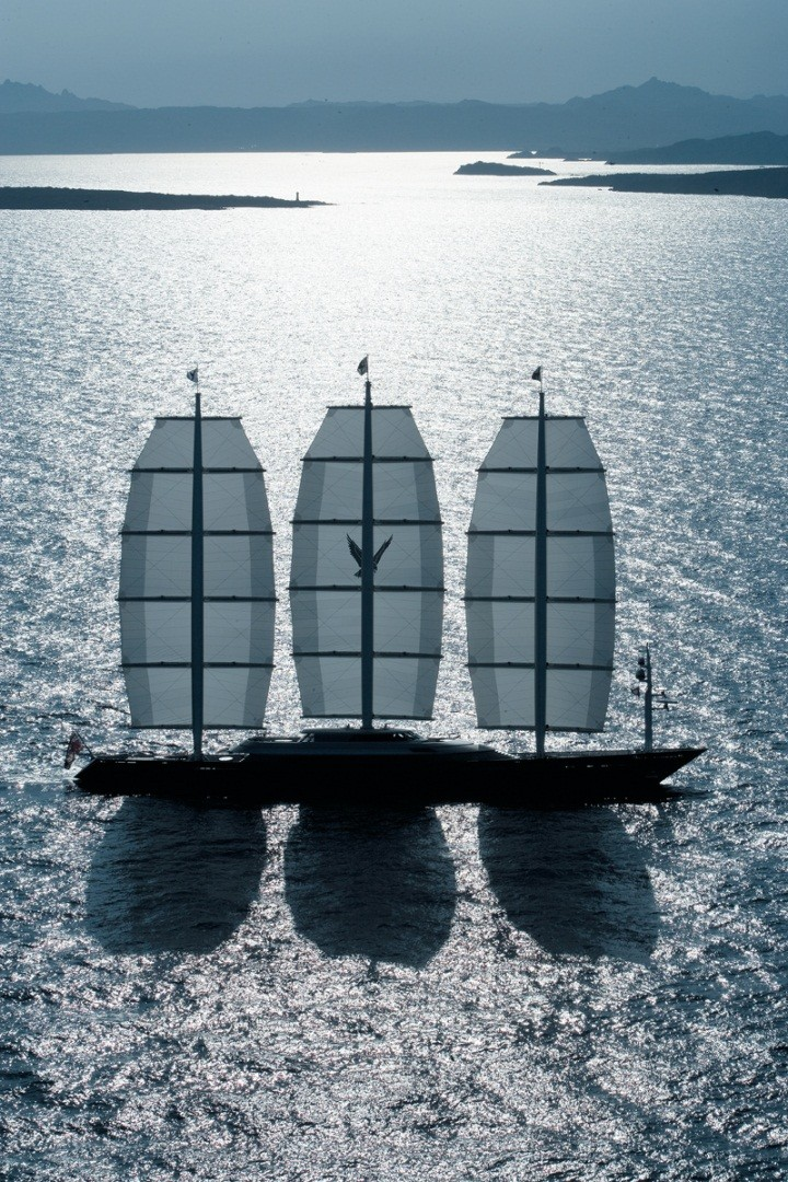 The Maltese Falcon - one of the largest yachts