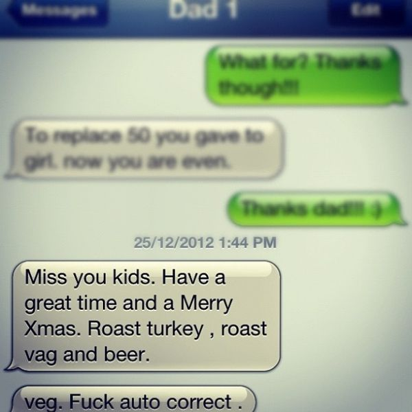 Funny Christmas Autocorrects