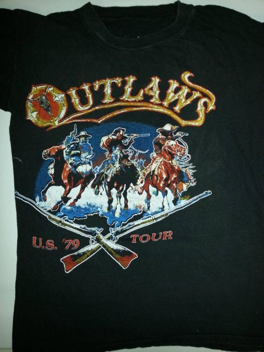 Concert T-shirts from the 70's