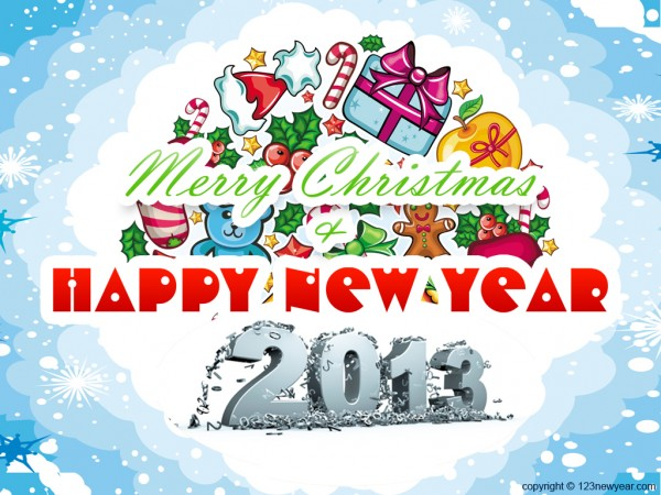 Happy New Year 2013, part 2013