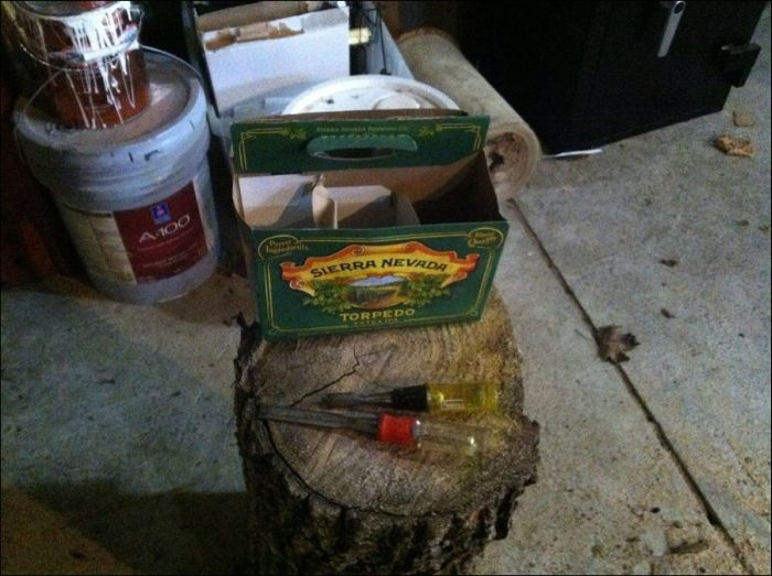 DIY Wooden Six Pack Carrier