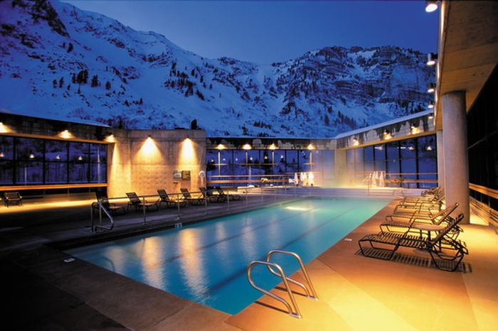The Most Beautiful Winter Pools