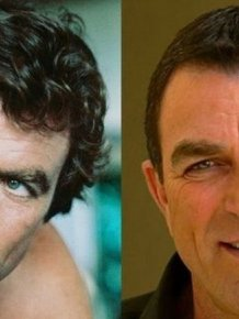 Celebrities With and Without Beards
