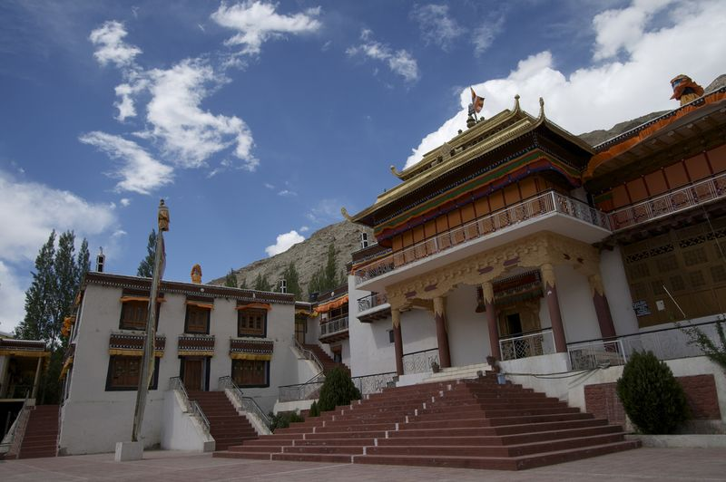 Tibetan Monastery Fortress Key Gompa Others