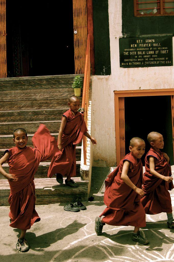 Tibetan monastery-fortress Key Gompa