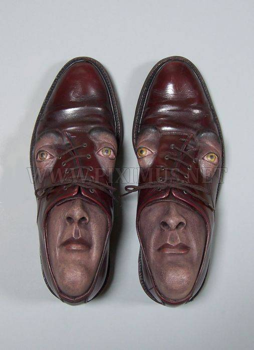 Shoes with Faces