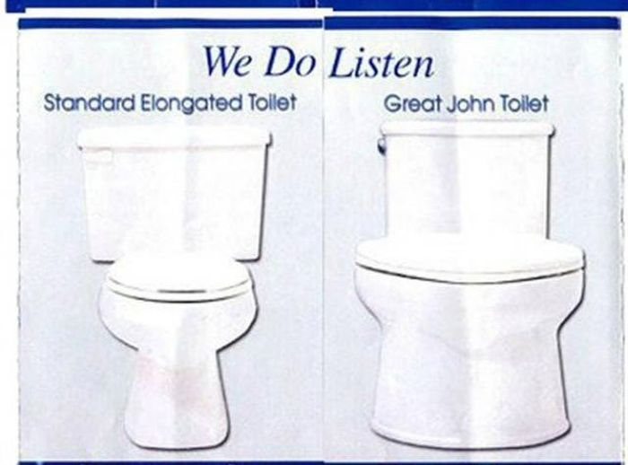 Toilets for Big People