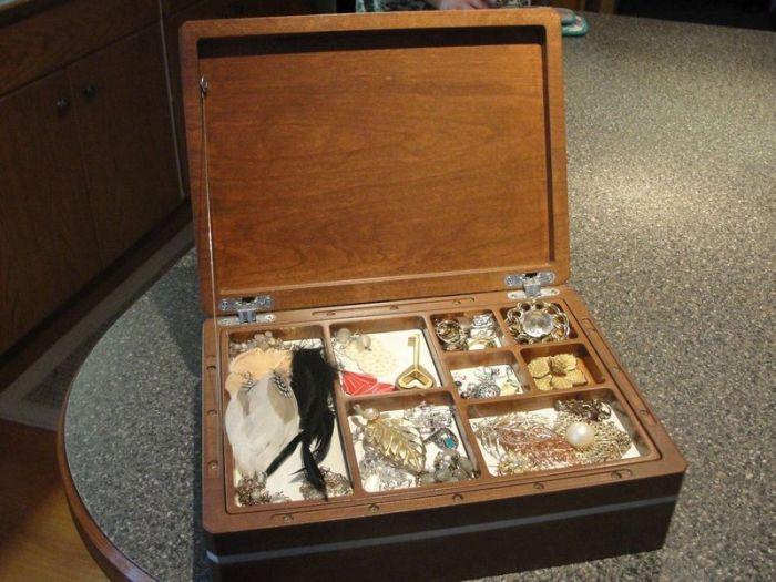Jewelry Box with a Secret