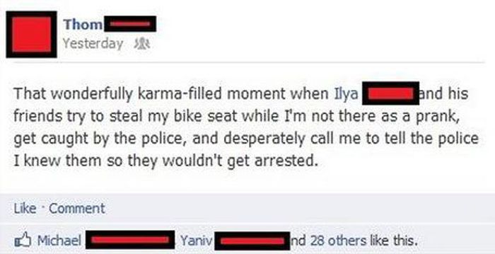 This Is What Karma is All About