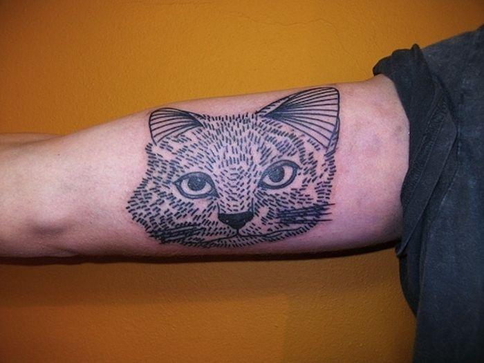 Pretty Cool Cat Tattoos
