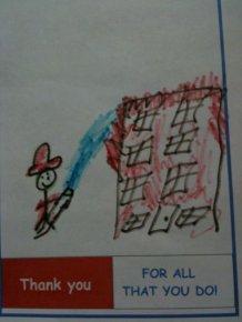 Funny Kids Drawings