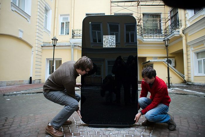iPhone 5 Shaped Steve Jobs Memorial