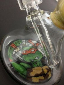 The TMNT Slice of Pizza Bong