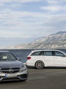 New Mercedes E63 AMG sedan and E63 AMG Estate