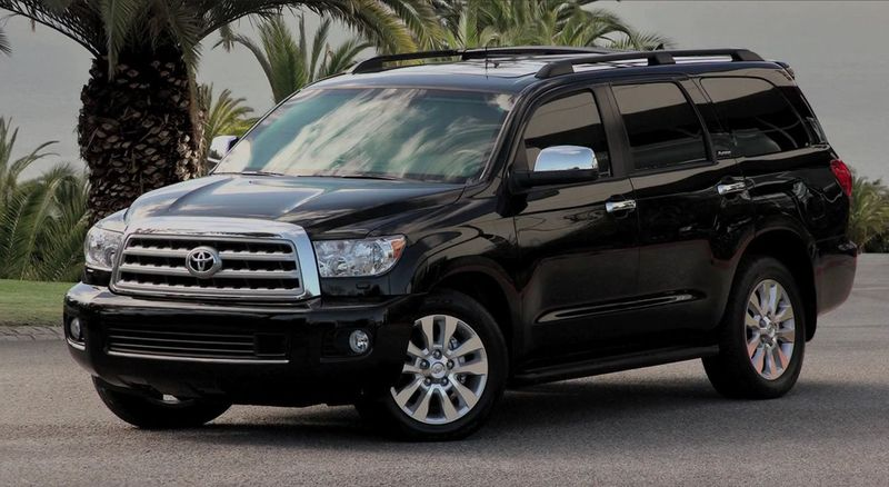 Luxury Armored Car From Toyota Sequoia Vehicles