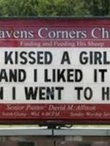 Awkward Church Signs