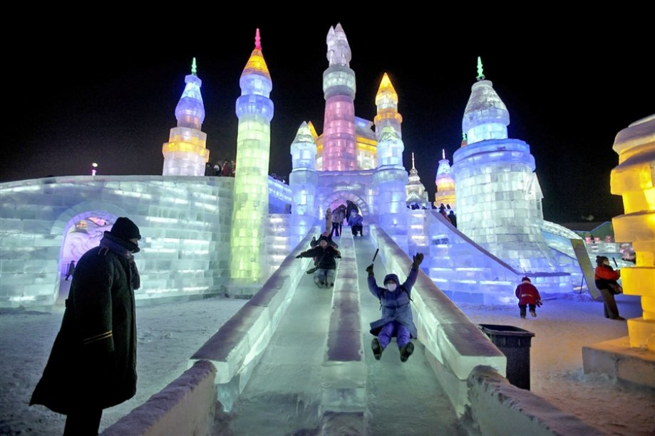 The Harbin Ice and Snow Sculpture Festival
