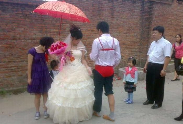 Strange Chinese Wedding Custom