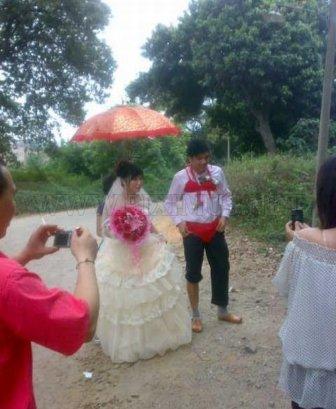 Strange Chinese Wedding Custom