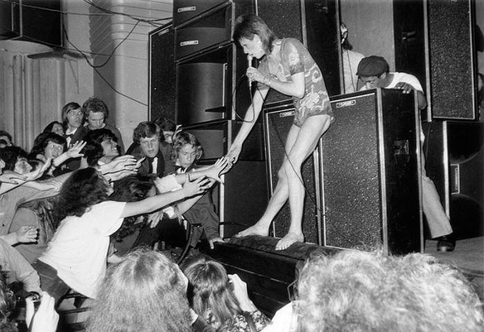 David Bowie Aging Timeline