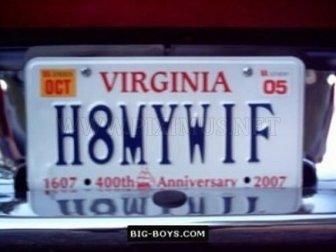 Hilarious License Plates