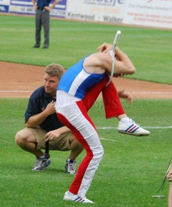 A Very Flexible Man