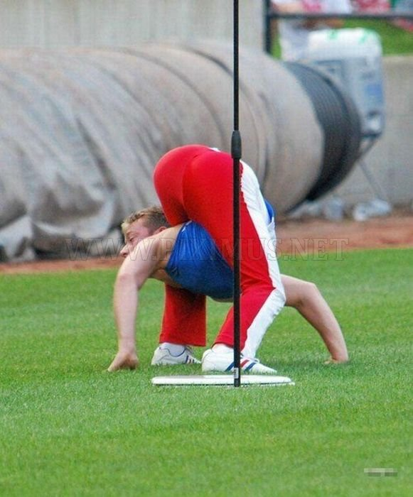 A Very Flexible Man