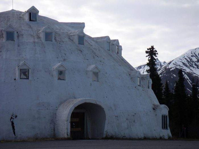 Abandoned Igloo City Hotel