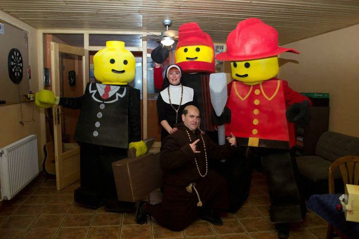 Costumes of Lego Men