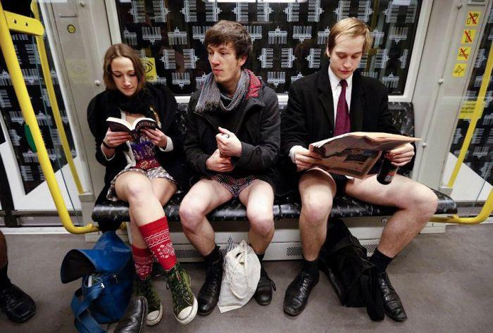 No Pants Subway Ride 2013, part 2013