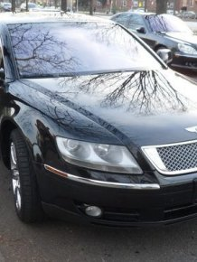 Volkswagen Phaeton like a Bentley