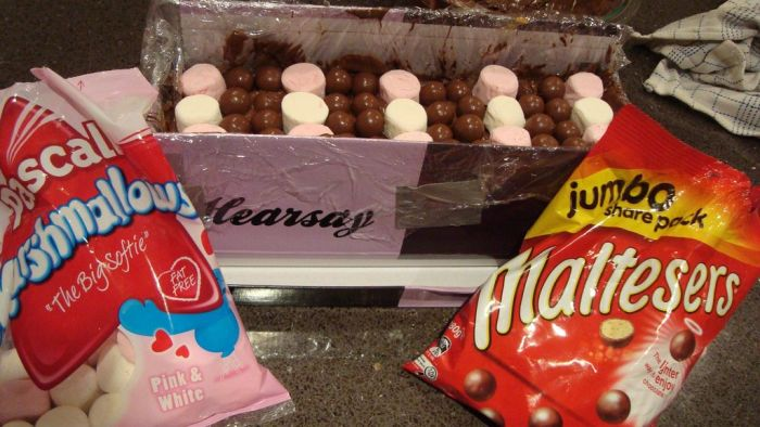 DIY Giant Chocolate Bar