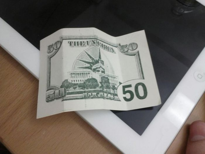Fifty-Dollar Bill Business Flyer