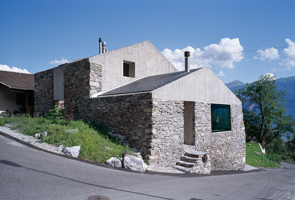 Rural house in 1814 in Switzerland